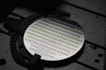 Oblea con células de alto rendimiento. | Solar Junction, EEUU.