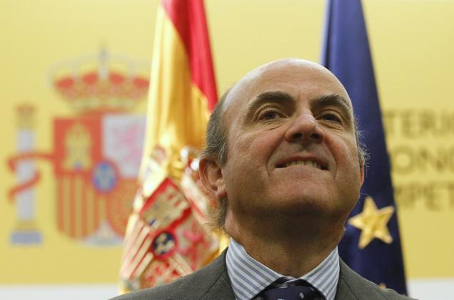 El ministro de Economía y Competitividad, Luis de Guindos. | Reuters