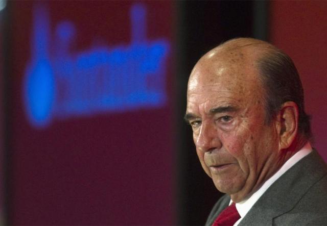 El presidente del Banco Santander, Emilio Botín. | Reuters