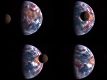 La Tierra y la Luna observadas por Deep Impact | NASA