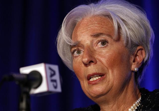 La directora gerente del FMI, Christine Lagarde.   Reuters