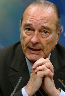 Jacques Chirac. | EL MUNDO