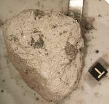 Roca recogida durante la misión 'Apollo 16'. | David A. Kring.