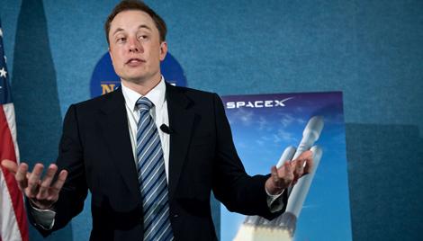 El magnate Elon Musk, dueño de Space X. | Afp