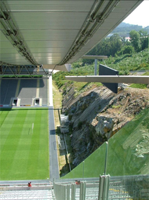 Estadio Municipal de Braga.