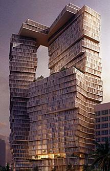Hotel en Beirut (Líbano), de Perkins+Will. | E M.