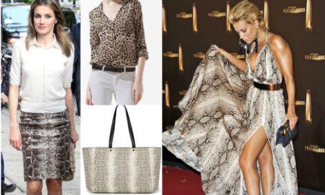 La princesa Letizia Ortiz. Camisa (17,99 e) y 'shopper' (15,99 e), de Zara. Sylvie Van Der Vaart.