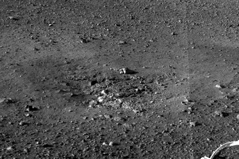Otras de las imágenes de alta resolución del Curiosity. | NASA