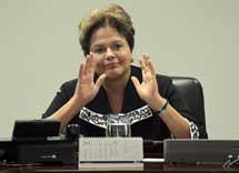 Dilma Rouseff, presidenta de Brasil. | Reuters