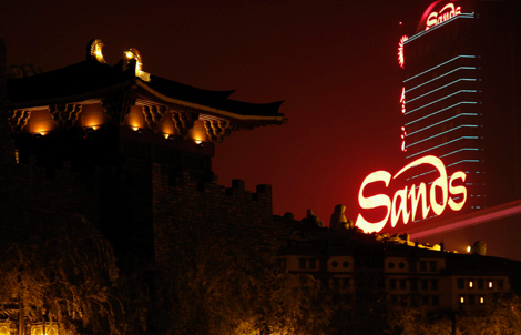 Vista del casino y hotel The Sands, en Macao. | Reuters