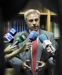 El juez González Armengol. | Efe