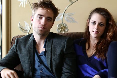 Los actores, durante la promoción de la última entrega de 'Crepúsculo'.   G3