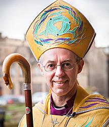 Justy Welby, obispo de Durham. | Afp
