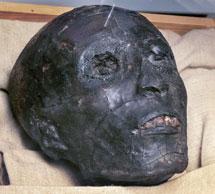 La momia de Tutankamón. | AP