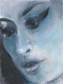'Amy?Blue (Amy Winehouse)', de Marlene Dumas, 2011 | © Marlene Dumas