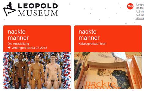 Imagen promocional de la exposición en la web del Museo Leopold.
