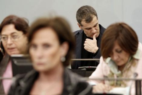 Imagen de Toni Cantó en la comisión de Igualdd
