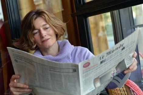 Natalie Nougayrède, nueva directora de 'Le Monde'.