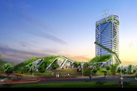 El rascacielos bioclimático del arquitecto Ken Yeang.   ELMUNDO.es