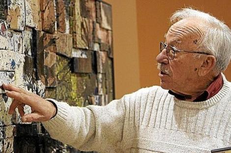 El escultor Arcadi Blasco, en una imagen de archivo. | E.M.