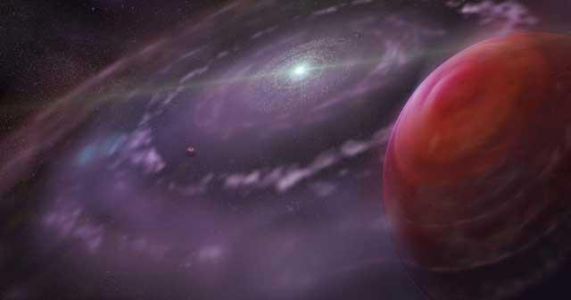 Recreación artística del nuevo planeta descubierto. | Science