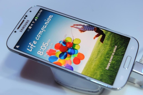 Nuevo modelo Samsung Galaxy IV. | Afp