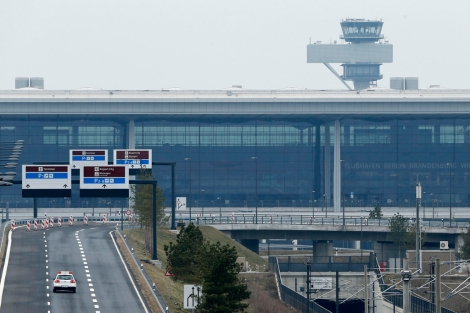 Vista del aeropuerto internacional en construcción en Berlín, que será llamado Willy Brandt. | Reuters