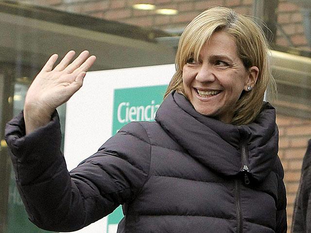 La Infanta Cristina, en una de sus últimas apariciones públicas, el pasado 4 de marzo. | K. Huesca / Efe