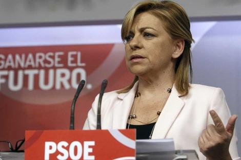 La vicesecretaria general del PSOE, Elena Valenciano. | Foto: Efe / Fernando Alvarado.