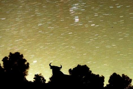 Lluvia de estrellas en la península. |Efe