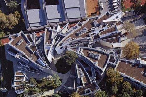 Vista aérea de la Escuela Judía Heinz-Galinski, Berlín. | Fotos: ELMUNDO.es