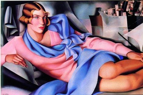 Muestra de las exposiciones de Art Nouveau y Tamara Lempicka. [VEA MÁS IMÁGENES]