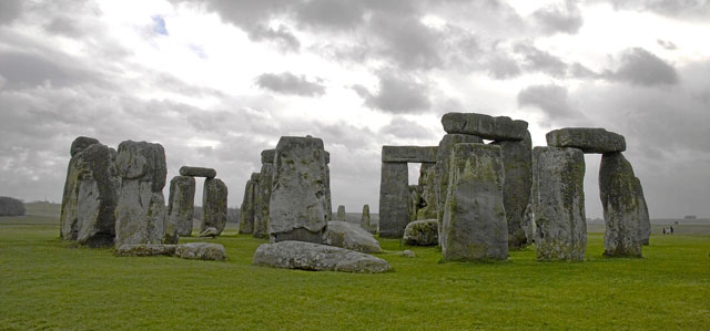 Vista panormica del monumento de Stonehenge, en Reino Unido. | Efe