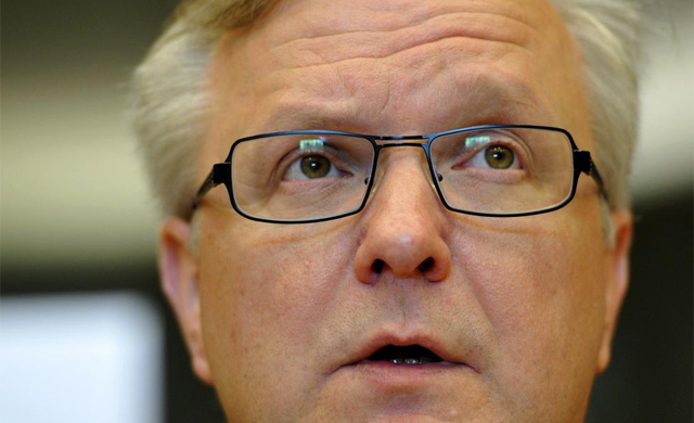El comisario europeo de Asuntos Económicos, Olli Rehn. | Afp