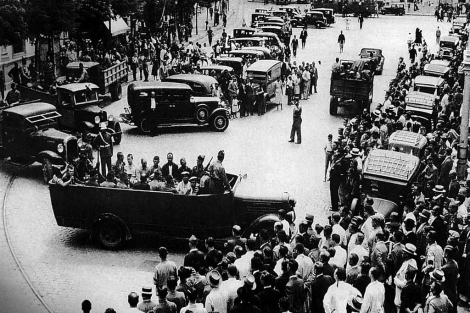 Sevilla, en julio de 1936. | Efe