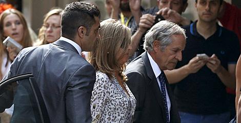 Rosalia Iglesias, mujer Luis Bárcenas, a su llegada a la AN. | Ballesteros / Efe