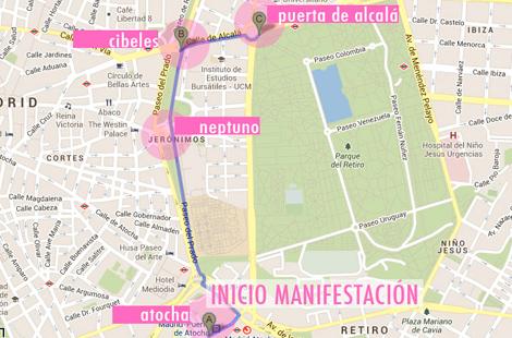 El desfile no pasará este año por la Gran Vía de Madrid.