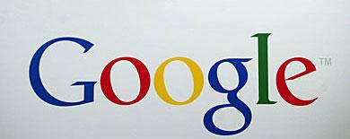 Imagen del logo de Google en Nueva York