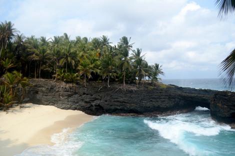 Playa en la isla de Rolas. | I.R.