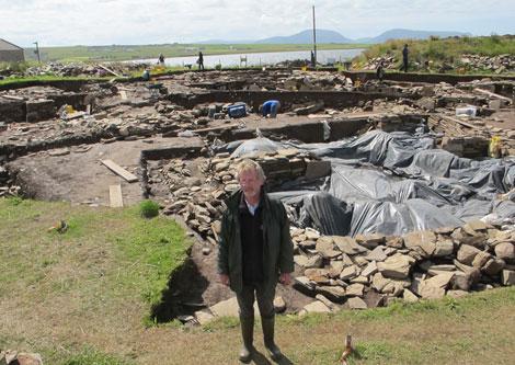 El arqueólogo y director de las excavaciones, Nick Card. | Carlos Fresneda