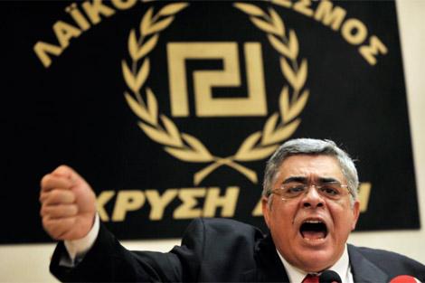 El líder del partido neonazi 'Amanecer Dorado'. | Afp