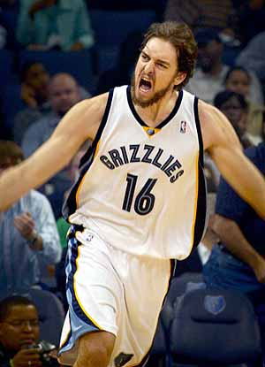 Next up, Pau Gasol and the Grizzl...er...Lakers...