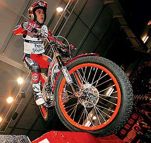deporte motor moto trial: