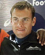 Ryan Shay, en 2005. (AP)