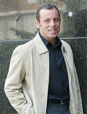 Sandro Rosell. (A. MORENO)