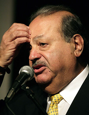 El mexicano Carlos Slim. (Foto: REUTERS)