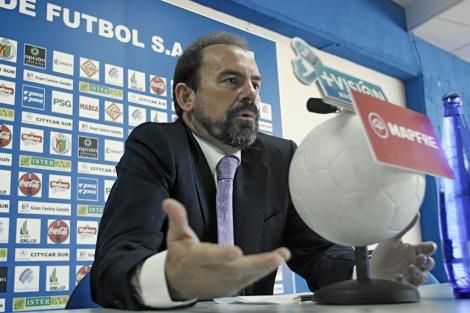 Ángel Torres, durante una rueda prensa. | Efe