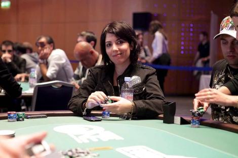 María Maceiras, jugadora de póquer, más conocida como 'May'