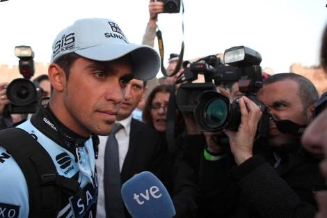 Alberto Contador, disse a repórteres na Corrida da Paz Israel.  | AFP