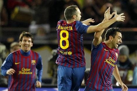 Messi encabeza el once ideal español
